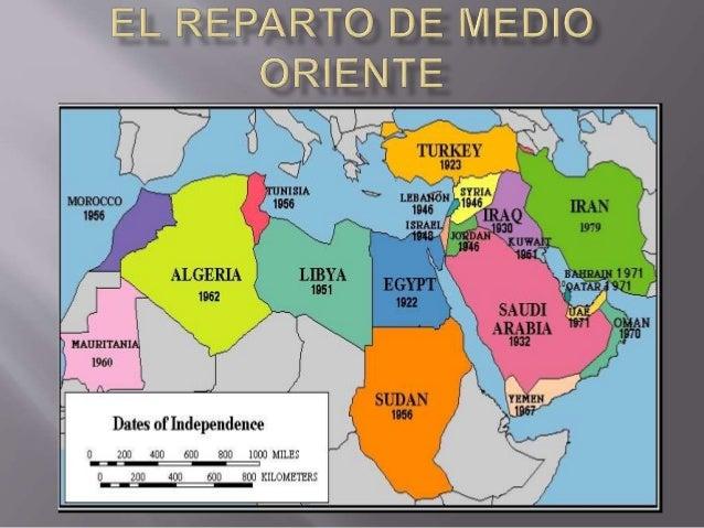 El Reparto De Medio Oriente