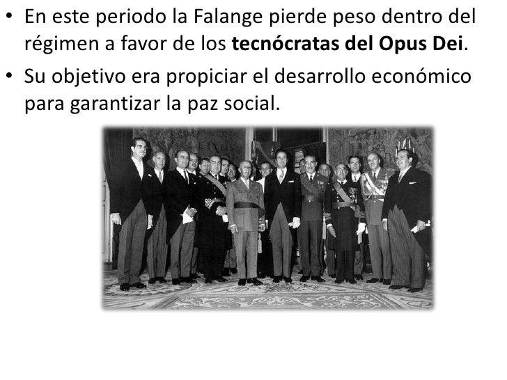 LA ÉPOCA DE               LA ÉPOCA DEL     LA                   DESARROLLO AUTARQUÍA                 ECONÓMICO(1939-1959) ...