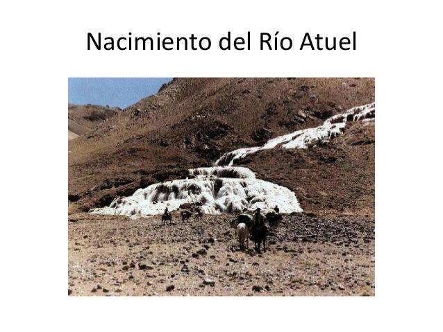 Nacimiento del Río Atuel