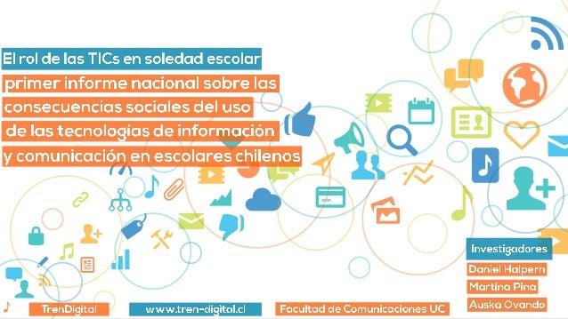 2 ¿Qué hicimos? Realizamos una encuesta a nivel nacional a los jóvenes chilenos para entender cómo se comunican a través d...