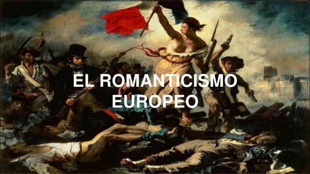 Resultado de imagen para el romanticismo europeo