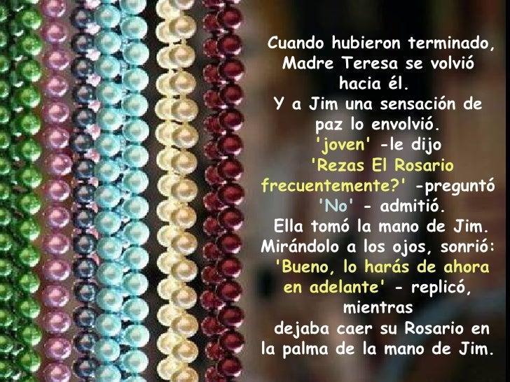 El rosario de la madre teresa de calcuta