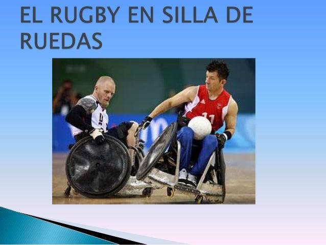 El rugby en silla de ruedas - Deportes en silla de ruedas ...