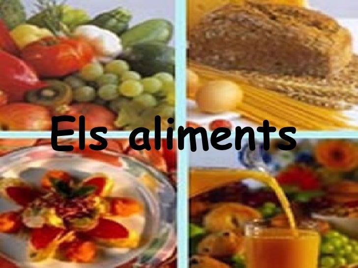 Els aliments