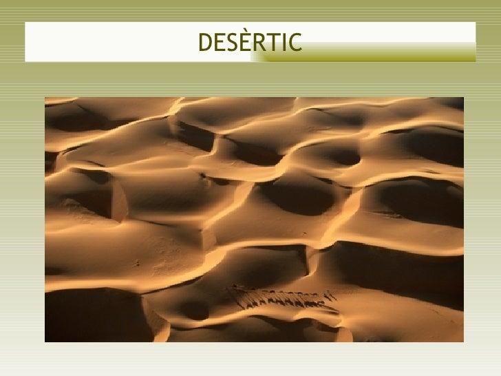 DESÈRTIC