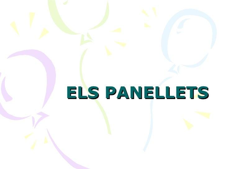 ELS PANELLETS