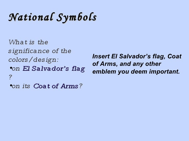 El Salvador Template