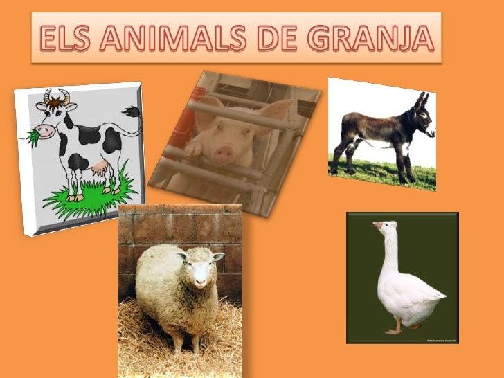 ELS ANIMALS DE GRANJA<br />