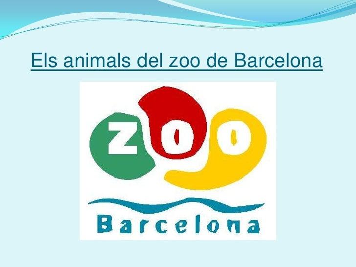 Els animals del zoo de Barcelona<br />