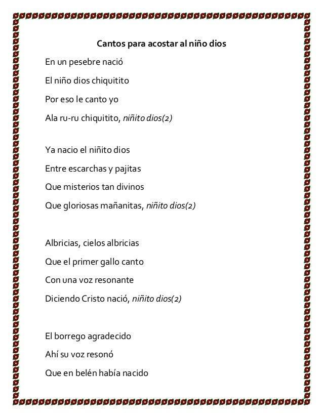 LETRA ARRULLO - Villancicos | Musica.com