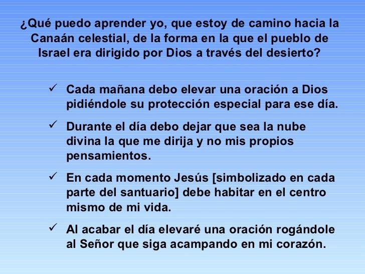 ¿Qué puedo aprender yo, que estoy de camino hacia la Canaán celestial, de la forma en la que el pueblo de Israel era dirig...