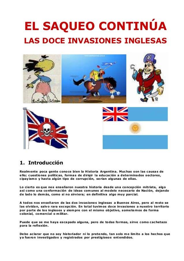 Cuadro Sinoptico Invasiones Inglesas