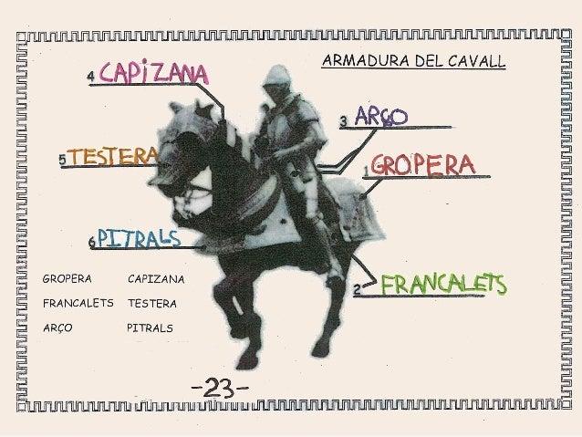 ARMES OFENSIVES I ACOSTUMA A PESAR UNS 2 QUILOS.   CONSTA DE 3 PARTS:  L'EMPUNYADURA,   LA CREUERA I LA FULLA.         ~2'...