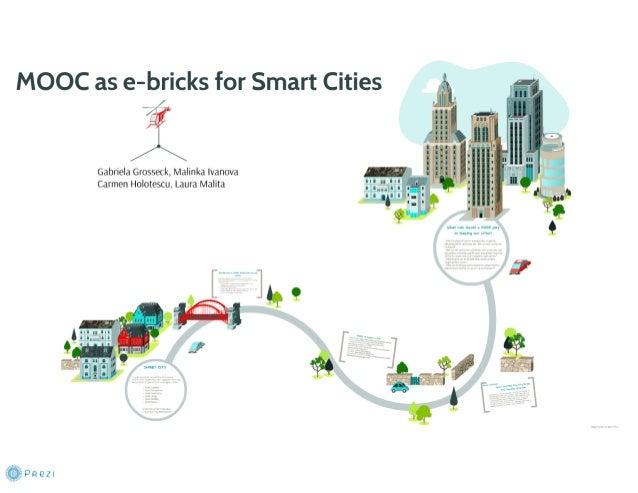 Massive Open Online Courses as e-Bricks for Smart Cities