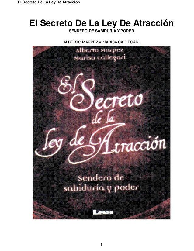Click el Secreto La Ley De La Atraccin Pdf - Pdf Document