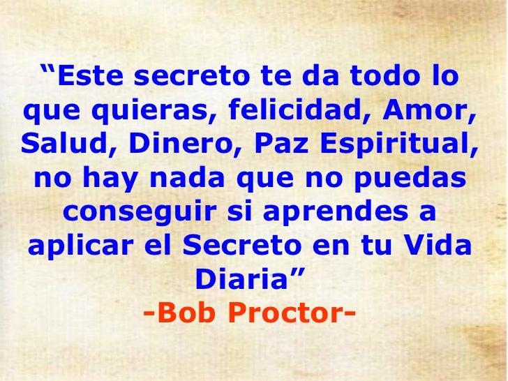 EL SECRETO - LA LEY DE LA ATRACCION Slide 2