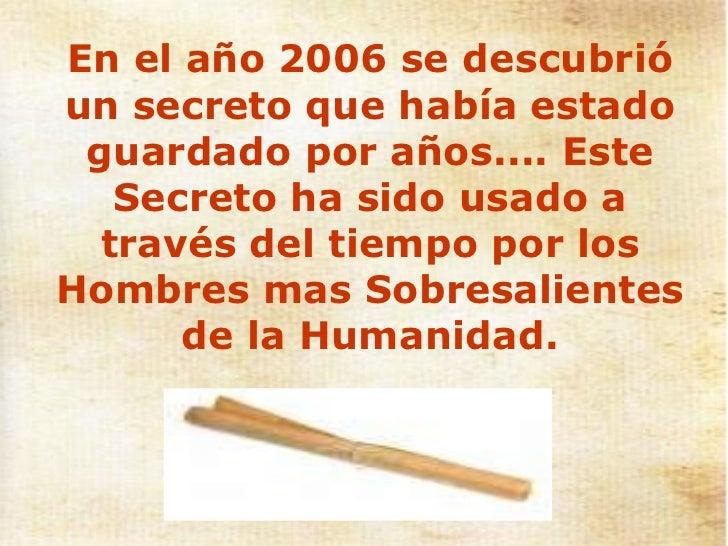 EL SECRETO - LA LEY DE LA ATRACCION Slide 3