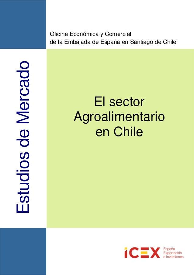El sector agroalimentario en chile for Oficina xestion de multas concello de santiago