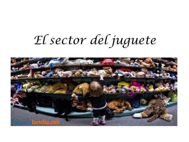 El sector del juguete