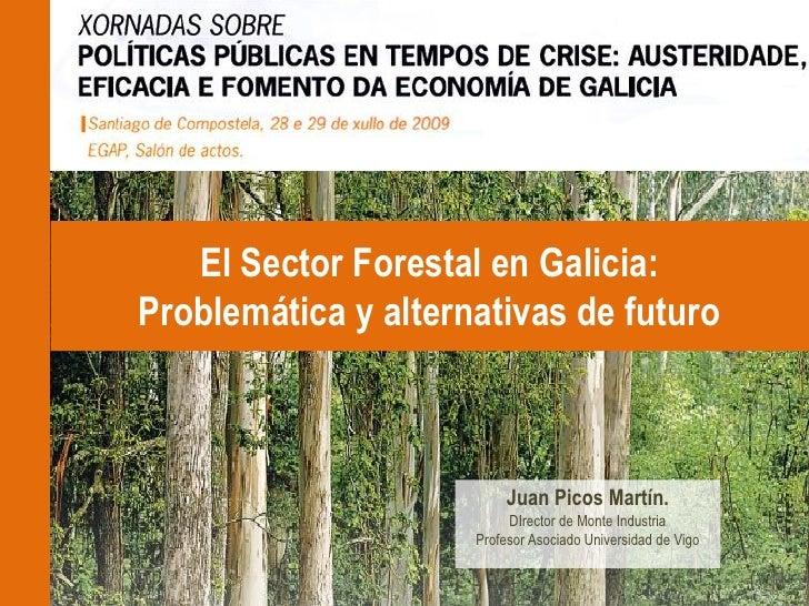 El Sector Forestal en Galicia: Problemática y alternativas de futuro                              Juan Picos Martín.      ...