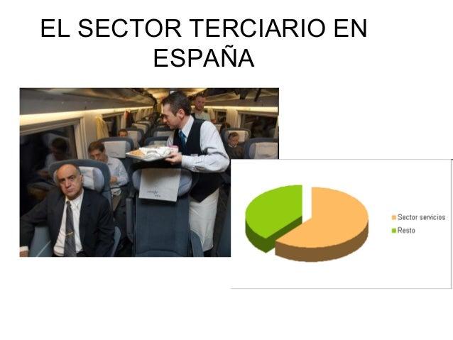 EL SECTOR TERCIARIO EN       ESPAÑA