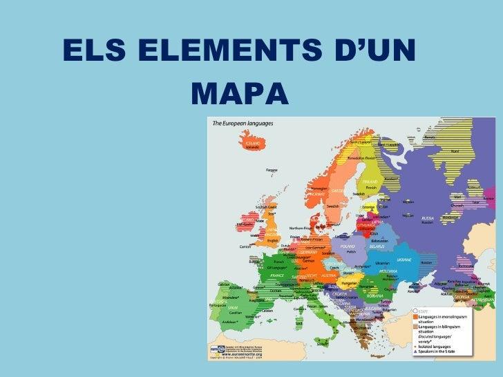 ELS ELEMENTS D'UN MAPA