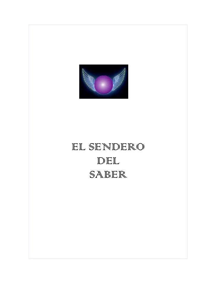 EL SENDERO    DEL   SABER