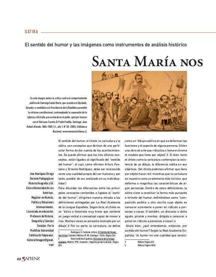 S ÁT IR A     El sentido del humor y las imágenes como instrumentos de análisis histórico                                 ...