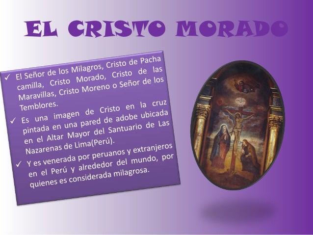 EL CRISTO MORADO