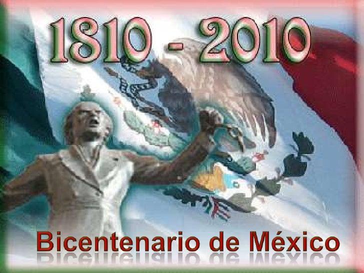 Bicentenario de México <br />