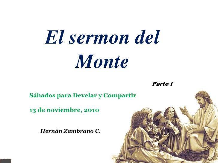 El sermon del monte 1