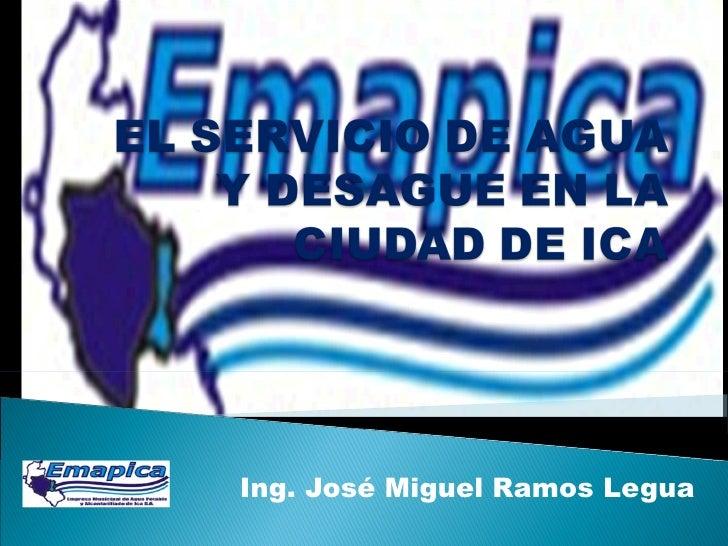 Ing. José Miguel Ramos Legua
