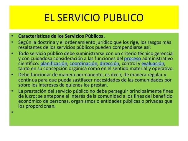 El servicio publico for Que es una oficina publica