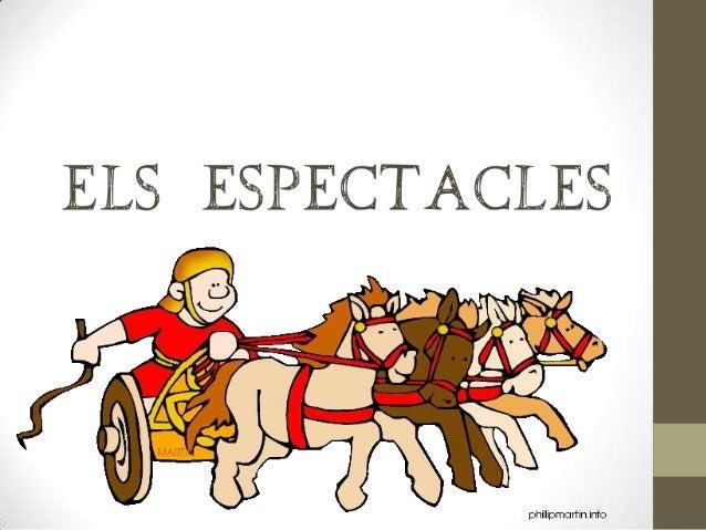 Simulacres de lluites entre aristòcrates  Carreres de quàdrigues Exhibicions i acrobàcies a cavall  Curses de cavalls