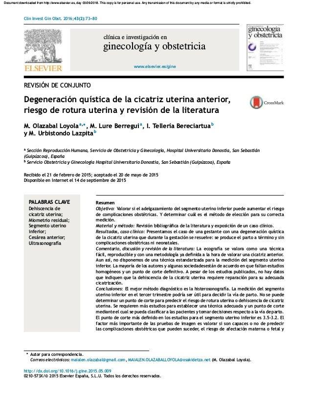 bdda46763 Elsevier cicatriz uterina