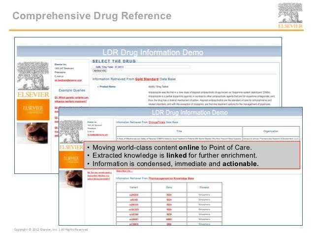Elsevier Smart Content LDR SemTech NYC Oct-17-2012