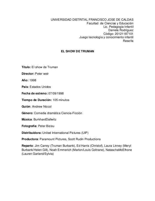 UNIVERSIDAD DISTRITAL FRANCISCO JOSE DE CALDAS Facultad de Ciencias y Educación Lic. Pedagogía Infantil Daniela Rodríguez ...