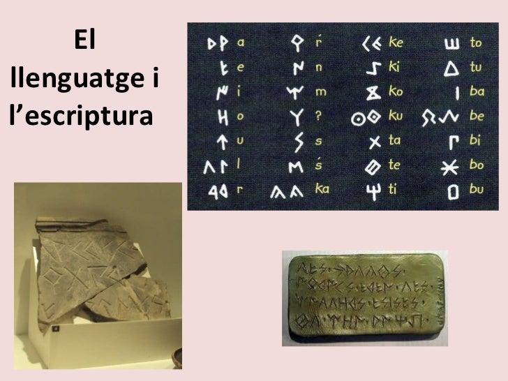 El llenguatge i l'escriptura