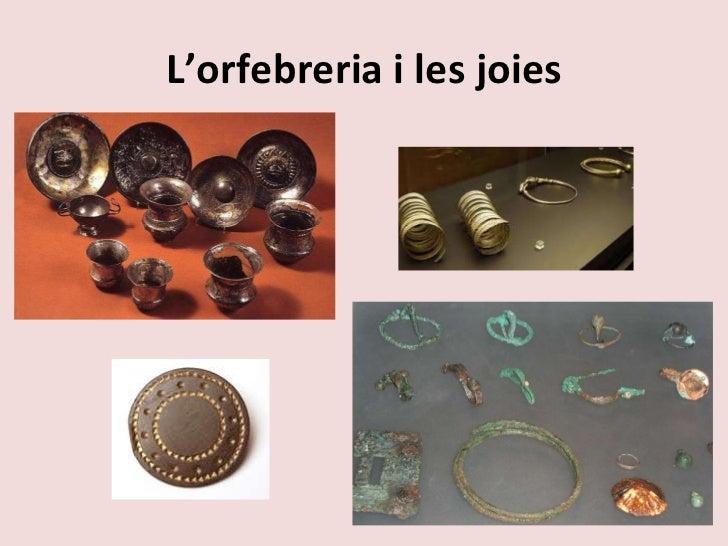 L'orfebreria i les joies