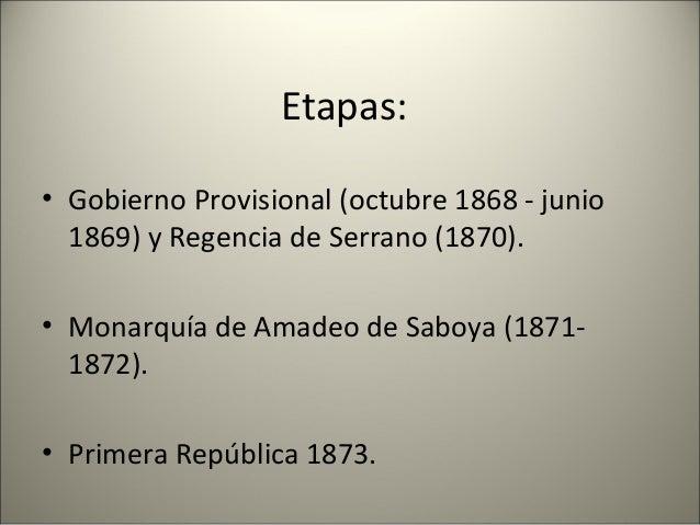 Pronunciamientos y sublevaciones: • 3ª Guerra Carlista (comienza en abril de 1872) Carlos Luís de Borbón, Conde de Montemo...