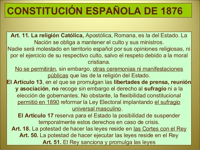 Regencia de María Cristina de Habsburgo. Acontecimientos • Pacto de El Pardo: Cánovas y Sagasta acuerdan el turno de parti...