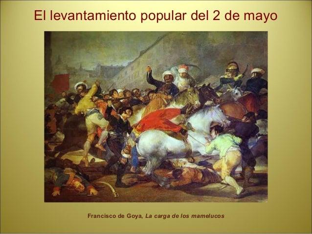 Acontecimientos: • Abdicación de Carlos IV en Fernando VII. • Sucesos de Bayona: Dan la corona a Napoleón que hace rey a J...