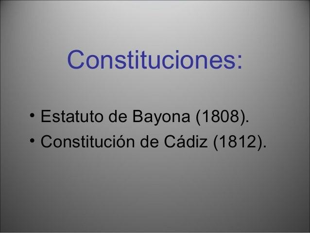 Aprobación en Cádiz de la Constitución el 19 de marzo de 1812