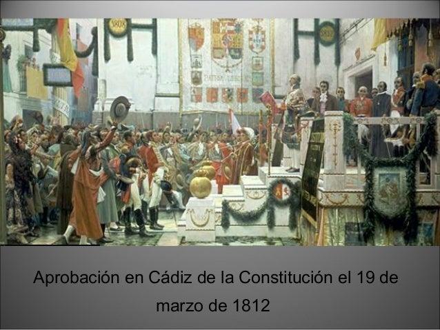 1814 1820 1823 1823 SEXENIO ABSOLUTISTA TRIENIO LIBERAL DÉCADA OMINOSA REINADO DE FERNANDO VIIREINADO DE FERNANDO VII