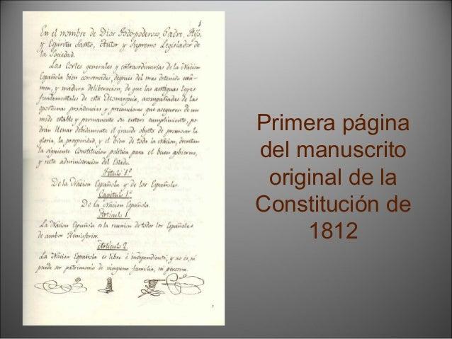 La restauración del absolutismo (1814-1820)