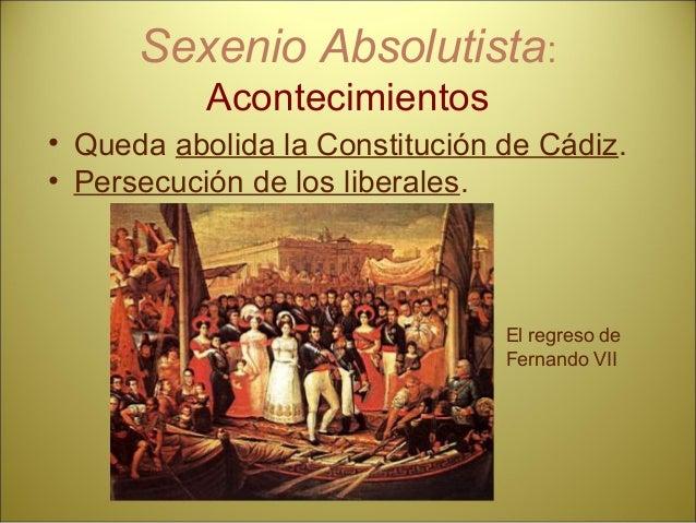 Un hecho singular dentro del reinado de Fernando VII: El agudizamiento de la crisis española: la independencia de las colo...