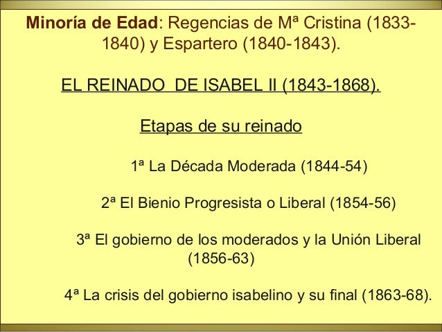 Constitución de 1837 • Entre progresista y moderada. • Progresista: Soberanía nacional, derechos y libertades, ayuntamient...