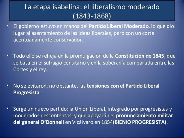 BIENIO PROGRESISTA PRONUNCIAMIENTO DE O´DONNELL (UNIÓN LIBERAL) EN VICÁLVARO. MANIFIESTO DE MANZANARES. APOYO DE LOS PROGR...