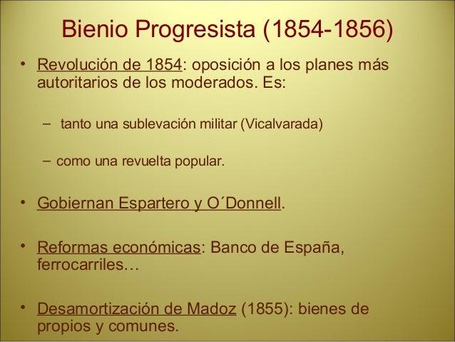 Pronunciamientos: • Villarejo de Salvanés (1866). Prim y otros progresistas. • Sargentos del cuartel de San Gil (1866). • ...