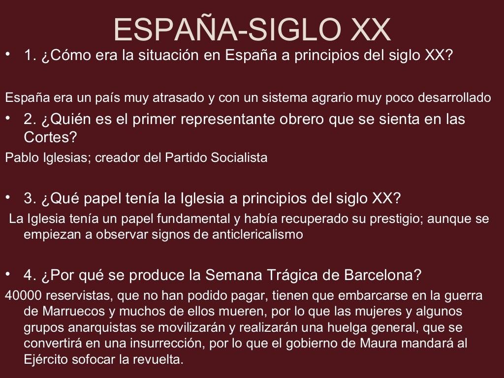 ESPAÑA-SIGLO XX •8. ¿Qué ocurre en el momento en el que se llevan a cabo las elecciones de 1936 en las que vence el Frente...